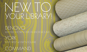 New to your library, Levey Wallcoverings and Architectural Finishes