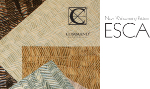Esca Wallcovering, Levey Wallcoverings and Architectural Finishes