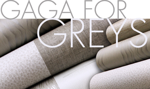 Gaga for Greys, Levey Wallcoverings and Architectural Finishes