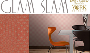 Glam Slam Wallcovering, Levey Wallcoverings and Architectural Finishes