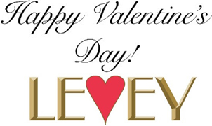 Happy Valentine's Day, Levey Wallcoverings and Architectural Finishes