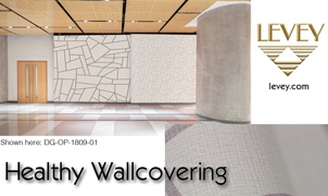 Healthy Wallcovering from Levey Wallcoverings and Architectural Finishes