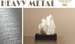 Heavy Metal Wallcovering, Levey Wallcoverings and Architectural Finishes