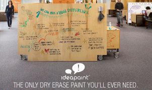 IdeaPaint Dry Erase Paint, Levey Wallcoverings and Architectural Finishes