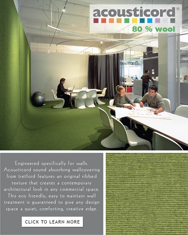 acousticord acoustical wallcovering