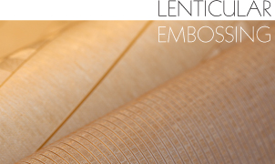 Lenticular Embossing Wallcovering, Levey Wallcoverings and Architectural Finishes