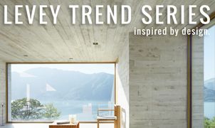 Concrete and Granite Wallcovering, Levey Wallcoverings and Architectural Finishes