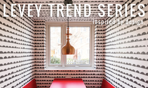 Patterns & Hues, Levey Wallcoverings and Architectural Finishes