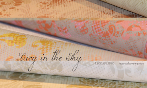 Lucy in the Sky Wallcovering, Levey Wallcoverings and Architectural Finishes