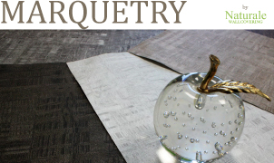 Marquetry Wallcovering, Levey Wallcoverings and Architectural Finishes