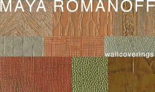 Maya Romanoff Wallcovering, Levey Wallcoverings and Architectural Finishes