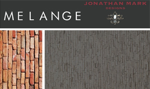 Melange Wallcovering, Levey Wallcoverings and Architectural Finishes