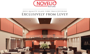 Novelio Wallcovering, Levey Wallcoverings and Architectural Finishes