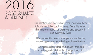 2016 Pantone Colour of the Year Review, Levey Wallcoverings and Architectural Finishes