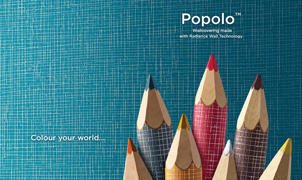 Popolo Wallcovering, Levey Wallcoverings and Architectural Finishes