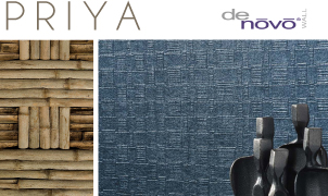 Priya Wallcovering, Levey Wallcoverings and Architectural Finishes