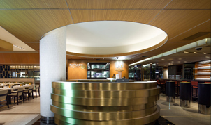 SanFoot Wood Veneer Wallcovering, Montreal Casino, , Levey Wallcoverings and Architectural Finishes