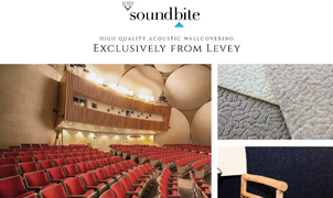 soundbite Acoustic Wallcovering, Levey Wallcoverings and Architectural Finishes
