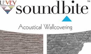 Soundbite Acoustical Wallcovering, Levey Wallcoverings and Architectural Finishes