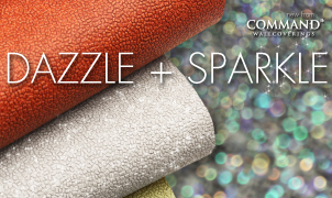 Sparkle and Dazzle Wallcovering, Levey Wallcoverings and Architectural Finishes