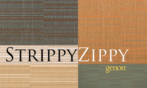 Strippy Zippy Wallcovering, Levey Wallcoverings and Architectural Finishes