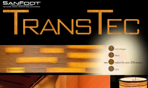 Transtec Wood Veneer, Levey Wallcoverings and Architectural Finishes