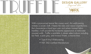 Truffle Wallcovering, Levey Wallcoverings and Architectural Finishes