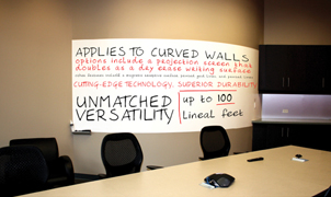 Dry Erase Wallcovering, Levey Wallcoverings and Architectural Finishes