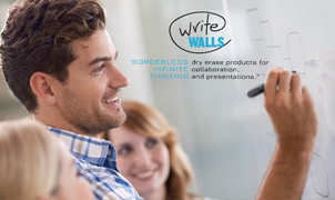 WriteWalls Dry Erase Wallcovering, Levey Wallcoverings and Architectural Finishes