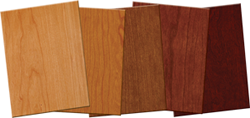 SanFoot Wood Veneer Wallcovering Custom Stains