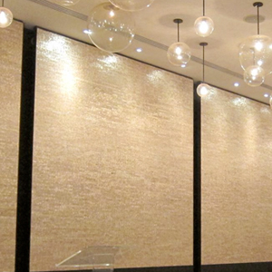 Cream Wallcovering, Soundbite Acoustical Wallcovering from Levey