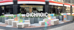DICHROIC 3M Architectural Films, Levey Wallcoverings and Interior Finishes