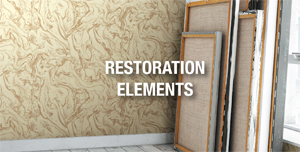 Restoration Elements Wallcovering, Levey Wallcoverings and Interior Finishes