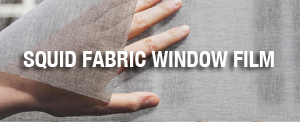 SQUID Fabric Window Film, Levey Wallcoverings