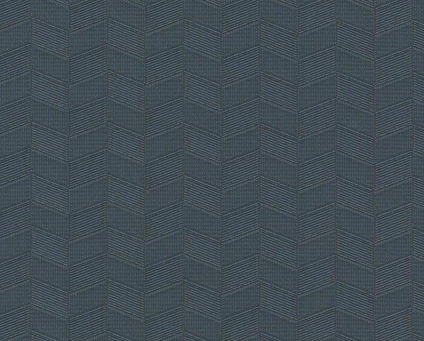 Blue Wallcovering, Block Party Commercial Vinyl Wallcovering from Levey