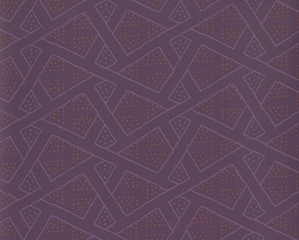 Purple Wallcovering, Charade Commercial Vinyl Wallcovering from Levey