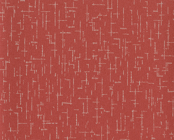 Red Wallcovering, Crossword Commercial Vinyl Wallcovering from Levey