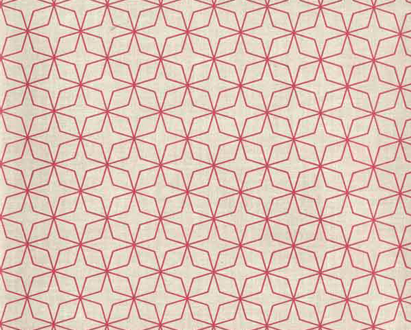 Red and Cream Wallcovering, Glam Slam Commercial Vinyl Wallcovering from Levey
