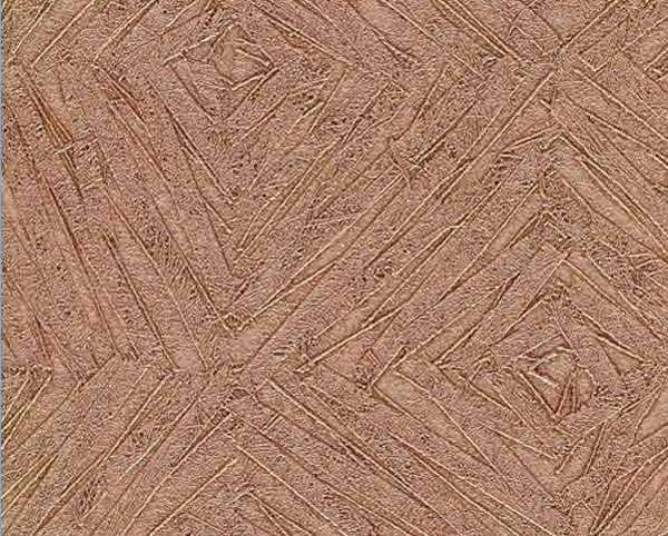 Metallic Copper Wallcovering, Labyrinth Commercial Vinyl Wallcovering from Levey