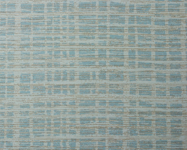 Blue Wallcovering, Plaid Hatter Commercial Vinyl Wallcovering from Levey