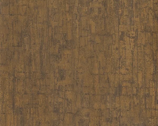 Brown Wallcovering, Salvaged Commercial Vinyl Wallcovering from Levey