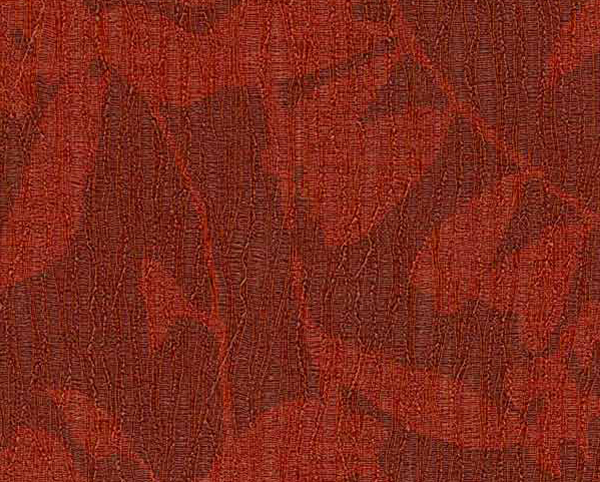 Red Wallcovering, Zephyr Floral Commercial Vinyl Wallcovering from Levey