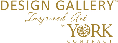 York Design Gallery Wallcovering logo, Levey Wallcoverings and Architectural Finishes