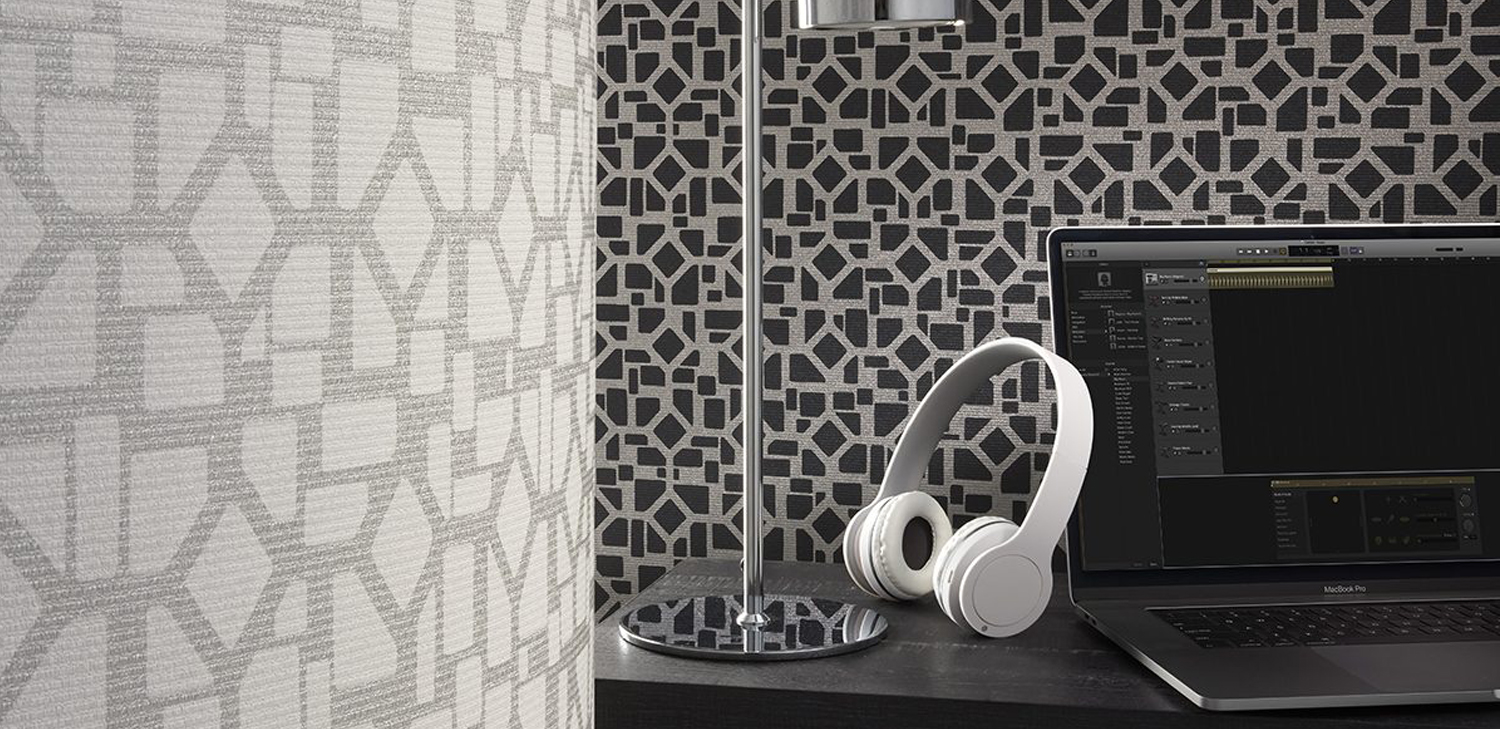 Block 35 Wallcovering from DeNovo Wall, LEVEY Commercial and Architectural Finishes