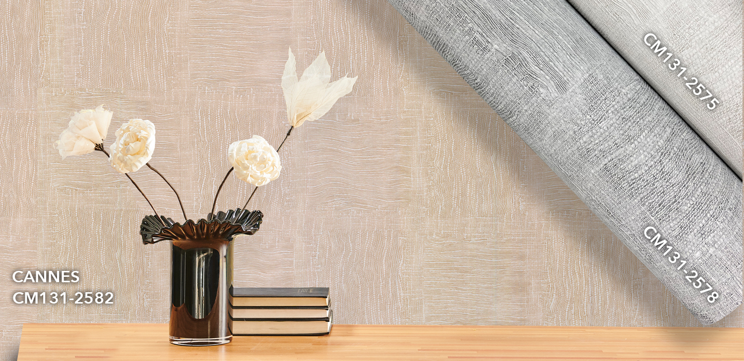 Cannes Wallcovering from LEVEY Commercial and Architectural Finishes