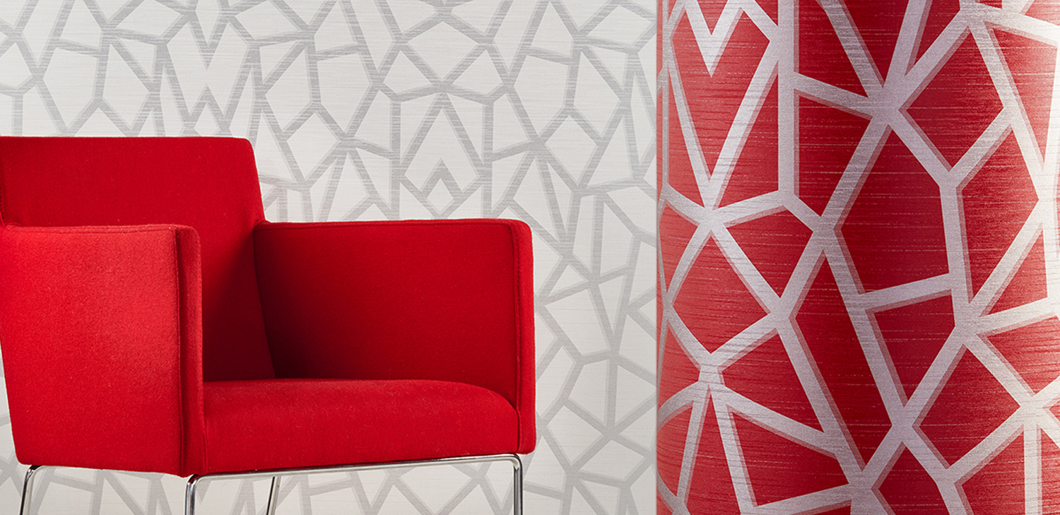 Dhani Geo Wallcovering from LEVEY Commercial and Architectural Finishes