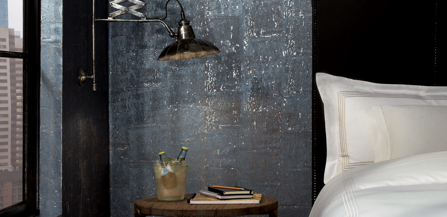 Factory Wallcovering from LEVEY Commercial and Architectural Finishes