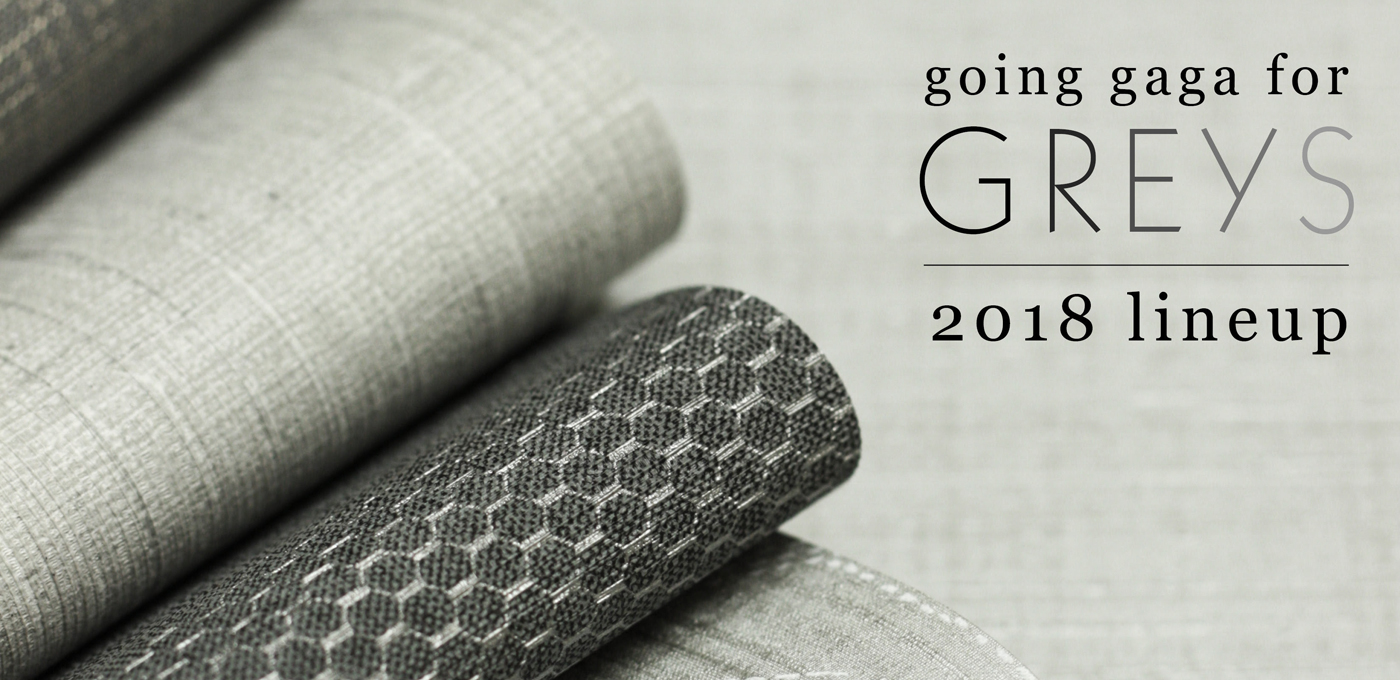 Gaga for Greys 2018 Lineup, Commercial Wallcovering