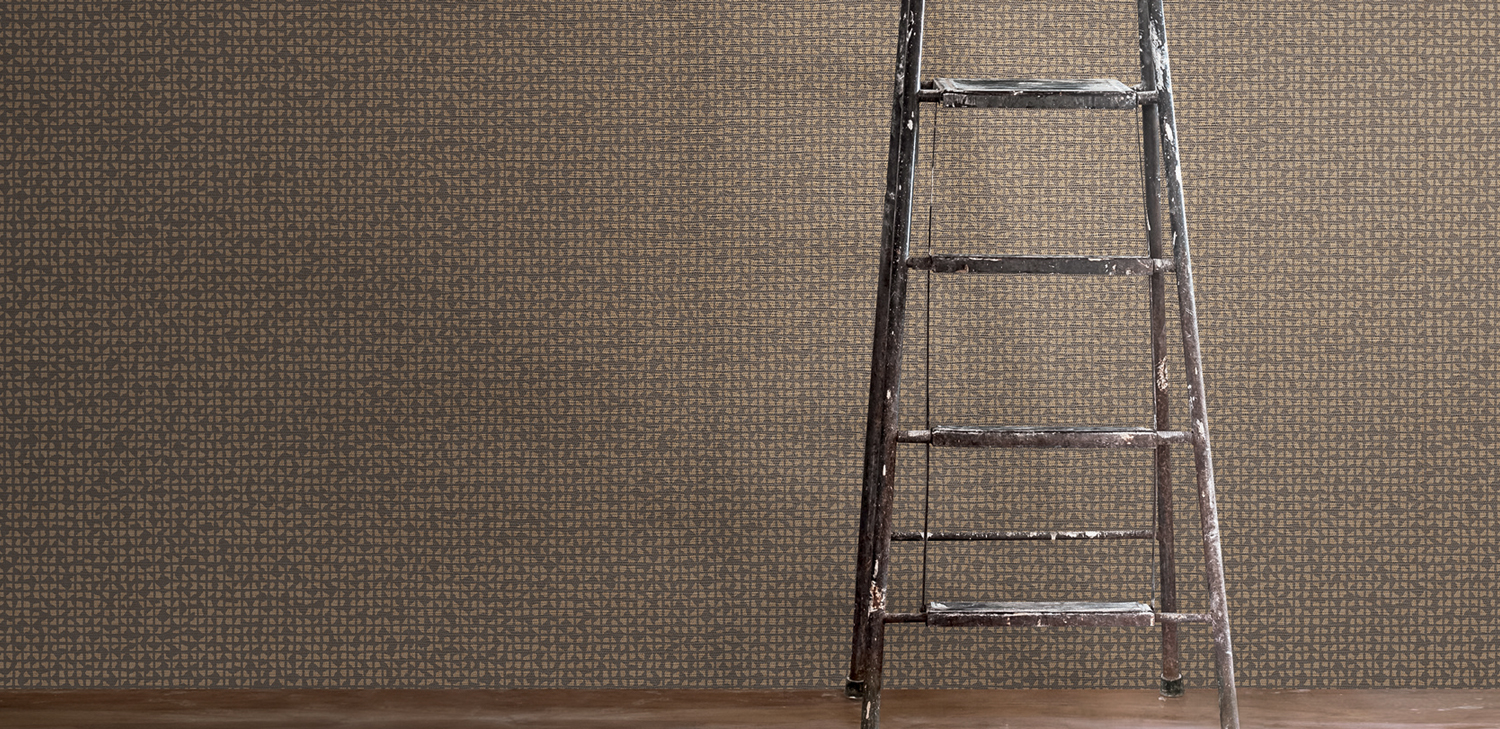 Grid Iron Wallcovering from LEVEY Commercial and Architectural Finishes