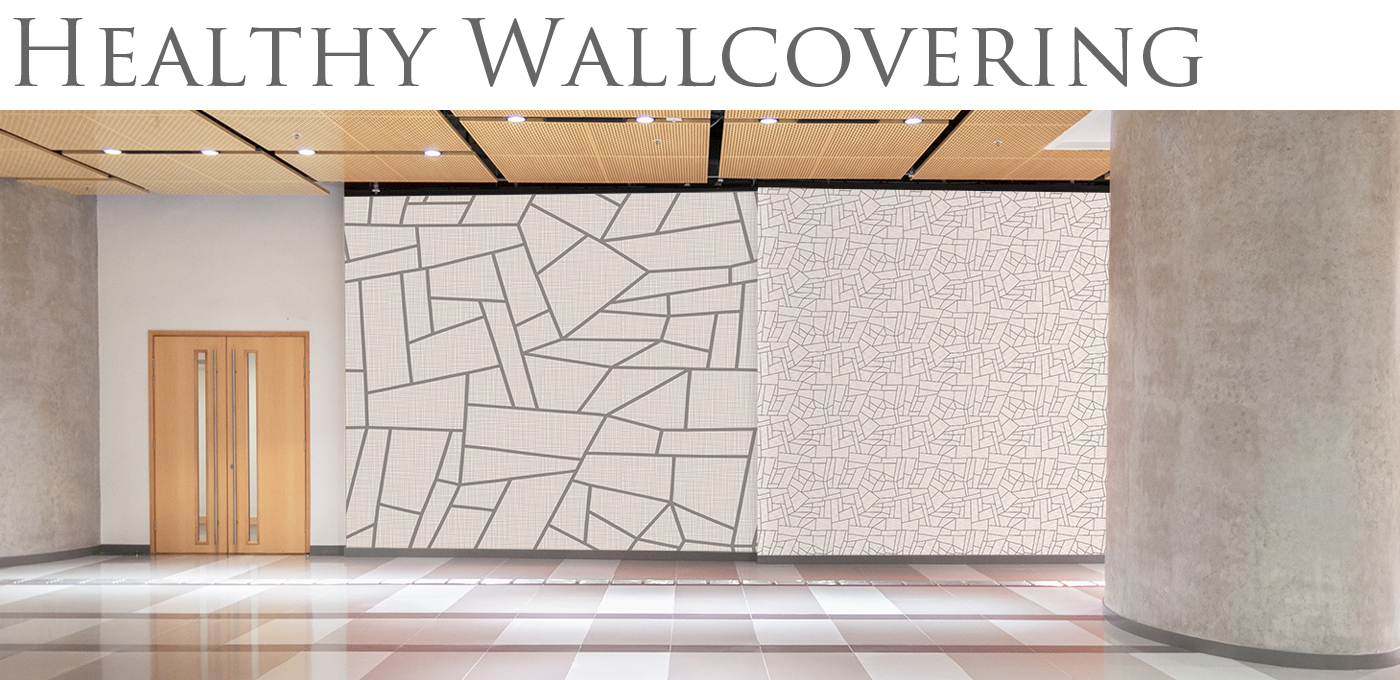 Healthy Commercial Vinyl Wallcovering from Levey
